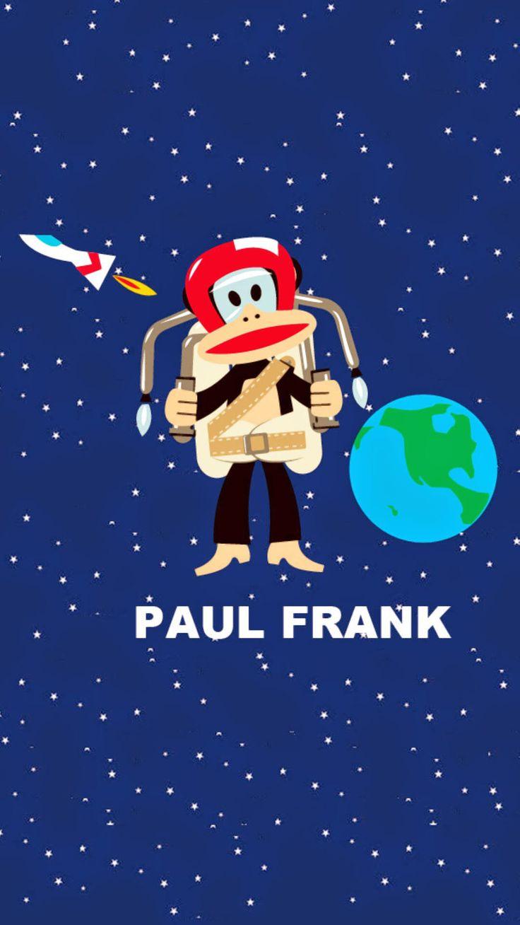 ポール・フランクiPhone壁紙 Paul Frank Wallpaper