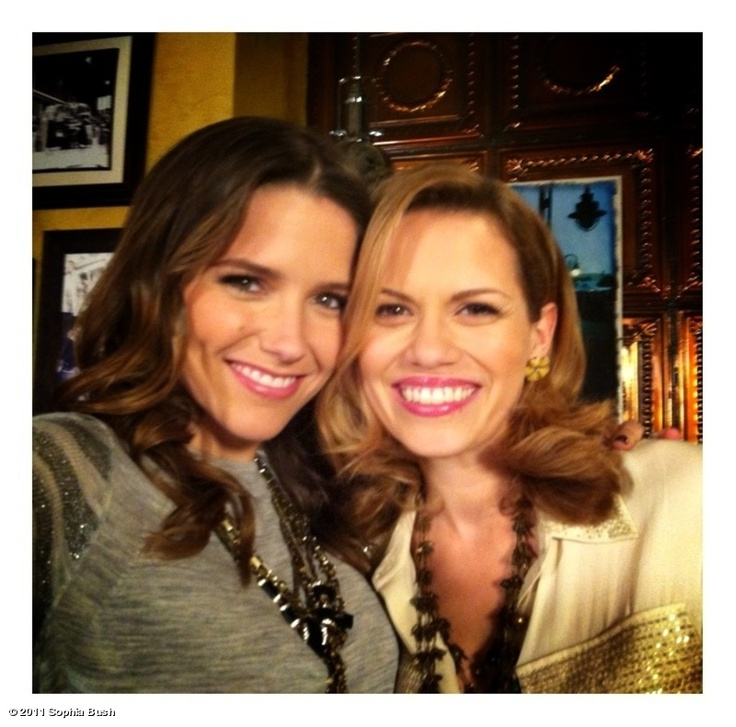 Sophia Bush and Bethany Galeotti
