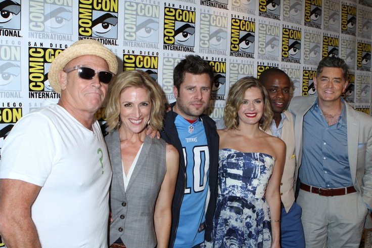 The PSYCH cast at Comic-Con 2012
