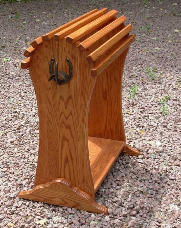 Saddle stand with bridle hook                                                                                                                                                                                 More