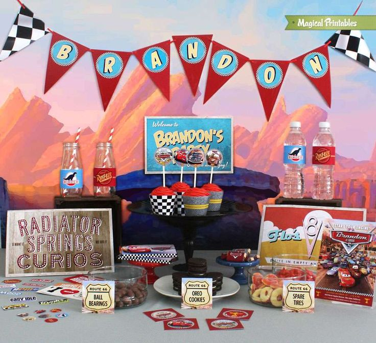 Disney Cars Party Collection | CatchMyParty.com