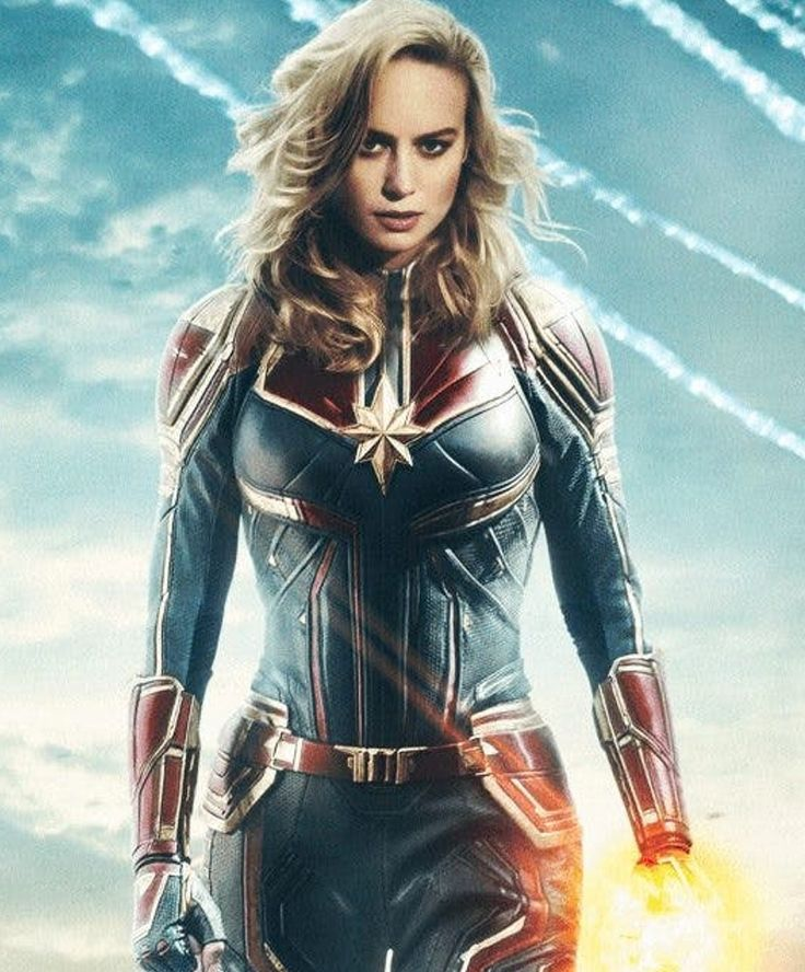 Catch 'Brie Larson' in action in the 2019 movie