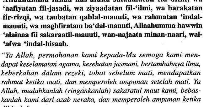 Bacaan Doa Selamat Paling Mudah Semua Orang Mesti Hafal Doa Pale Orange