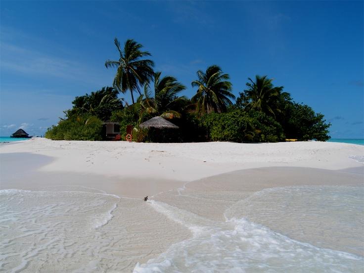 MALDIVE. Velavaru Island. Suite on the beach