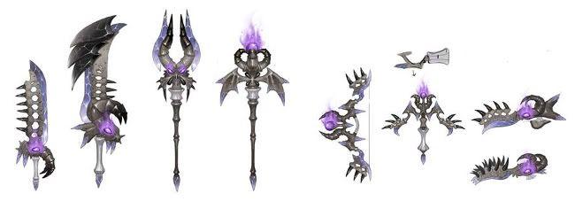 dragonica_bone weapons