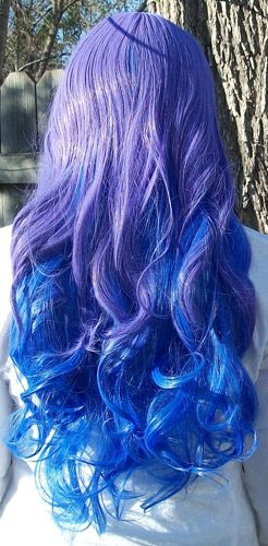 Princess Luna Cosplay Wig. Expensive but fantastic!! In love with this