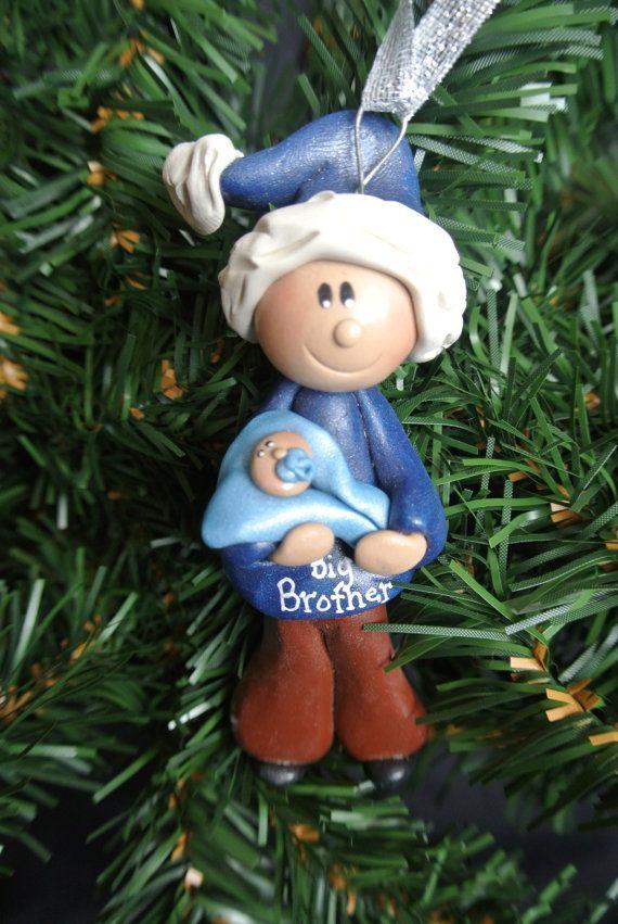 Big Sister Or Big Brother With Baby Sibling Christmas