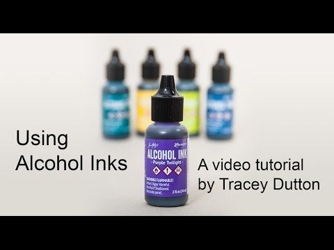 An Introduction to Alcohol Inks and Yupo Card We have put together this helpful video tutorial on creating designs with the Alcohol inks and Yupo card. After much experimenting with Alcohol inks I …