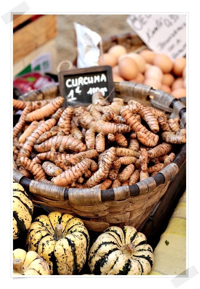 turmeric = curcuma!  favorite