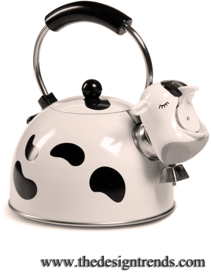 Lovely Crazy Kitchen Appliances #7: 7 Interesting Tea Kettles. I Want The Cat One!