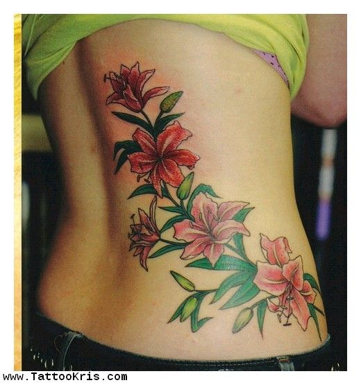 Tropical Flower Rib Tattoos: 102 Best My Style Images On Pinterest