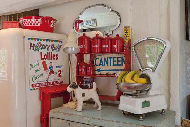 Cozinha: balanças vintage