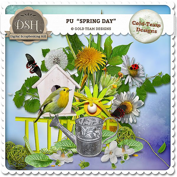 """"""" Spring day """" by Gold Team"""