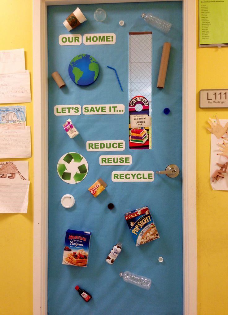 Earth Day Classroom Door