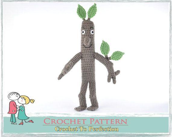 Amigurumi PATTERN Stick Man Stickman Crochet by TatieSoftToys