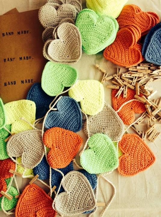 Crochet Garland Inspiration ❥ 4U // hf