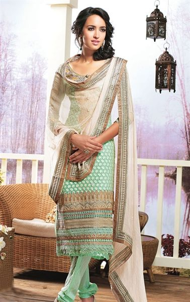 Picture of Exclusive Blue Color Casual Salwar Kameez