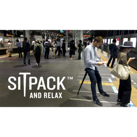 SITPACK AND RELAX BLACK