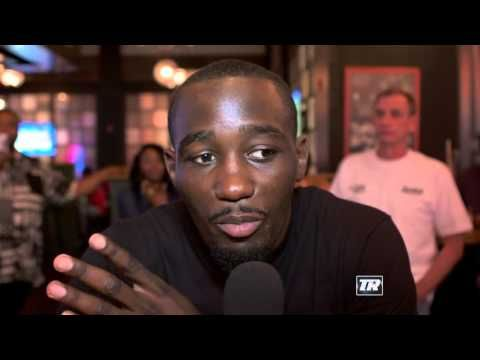 Terence Crawford Pays a Visit to Camp Bradley