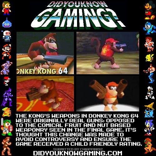 Did You Know Gaming? Donkey Kong 64