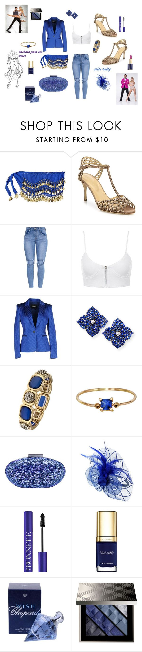 """""""bachata stile belly"""" by vincenza-adamo ❤ liked on Polyvore featuring Sergio Rossi, byblos, Piranesi, Yi Collection, Carvela, Dolce&Gabbana, Chopard, Burberry and Estée Lauder"""