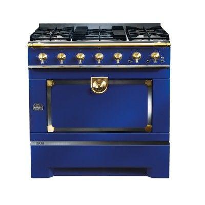 La Cornue CornuFé 1908 Stove, Navy Sharon, For Your New Kitchen!