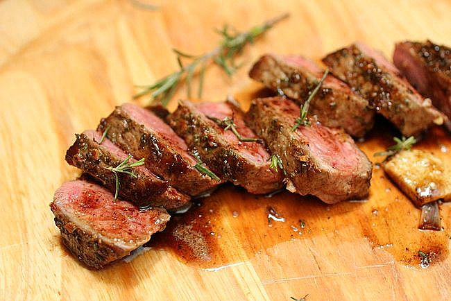 Rosemary Garlic Butter Steak + Tips for Cooking a Great Steak
