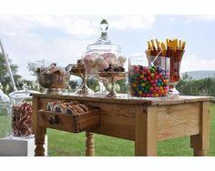 mesas de dulces bodas mexico estilo rustico - Buscar con Google