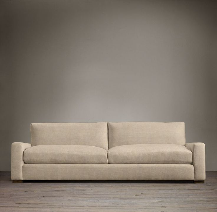 6 39 Maxwell Upholstered Sofa Sofas Restoration Hardware