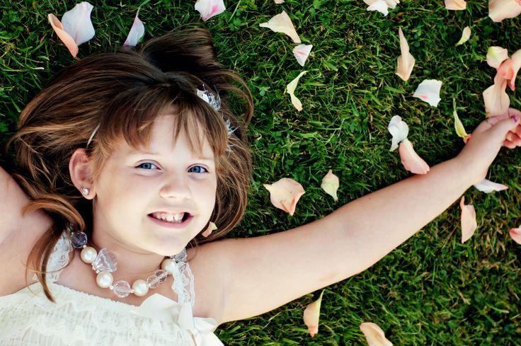 Children's Portraiture, Flower Petals