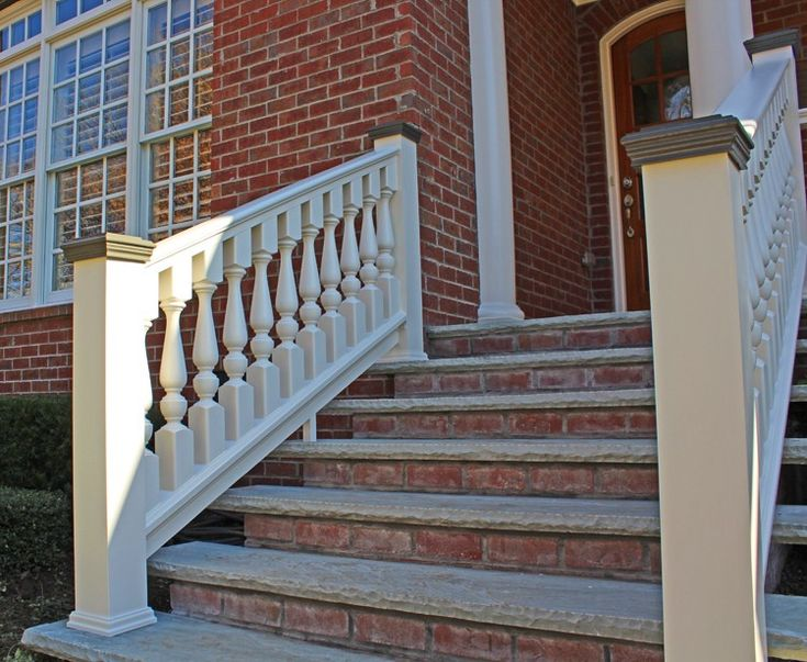 3 1 2 Quot Wood Spindle Porch Gallery Porch Stairs Porch