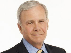"""Tom Brokaw is an American television journalist and author, best known as the anchor and managing editor of NBC Nightly News from 1982 to 2004. He is the only person to host all three major NBC News programs: The Today Show, NBC Nightly News, and, briefly, Meet the Press. Brokaw was one of the """"Big Three"""" news anchors in the U.S. during the 1980s, 1990s and early 2000s."""