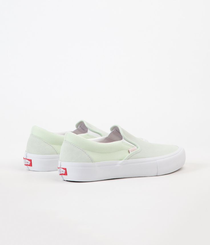 Vans Slip-On Pro Shoes - Ambrosia / White