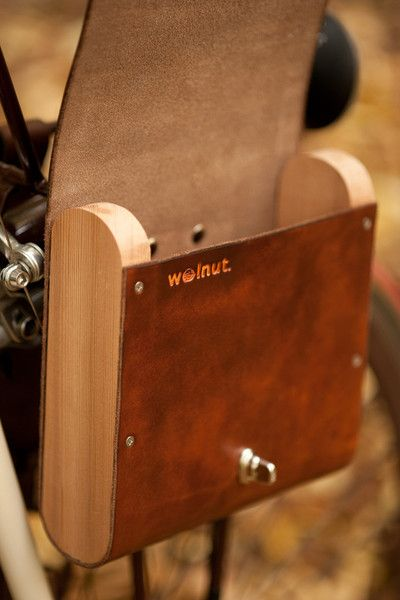 Pocket Pannier - Walnut  - 9