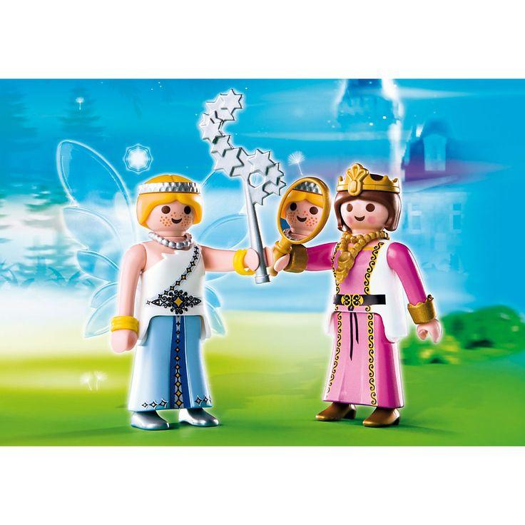 Playmobil Wróżki Duo Pack Księżniczka i Czarodziejka, 4128, klocki