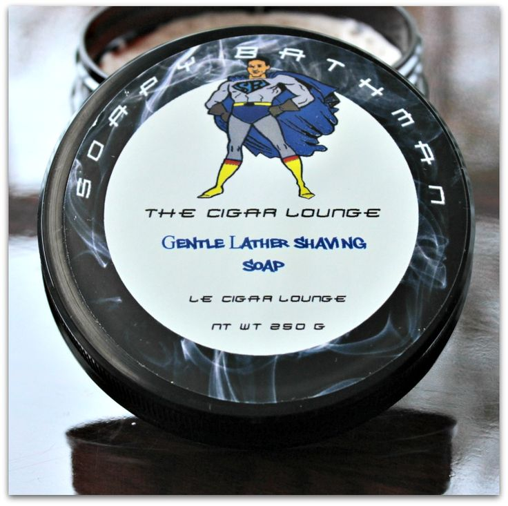 The Cigar Lounge Shave Soap
