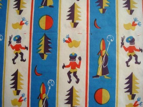 Inpakpapier uit de jaren '60