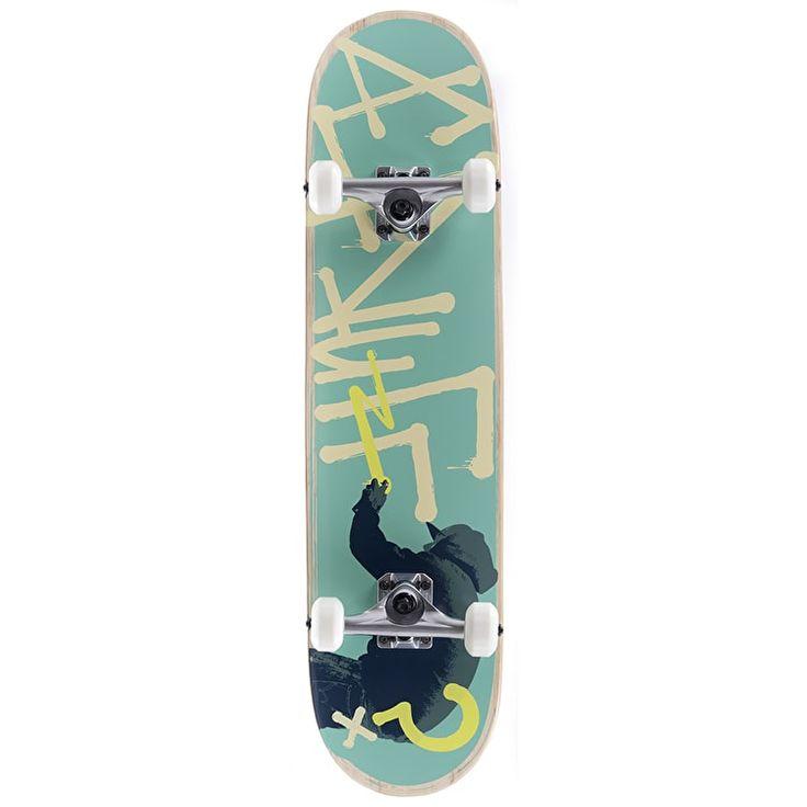 Enuff Tag Graffiti Complete Skateboard - Green