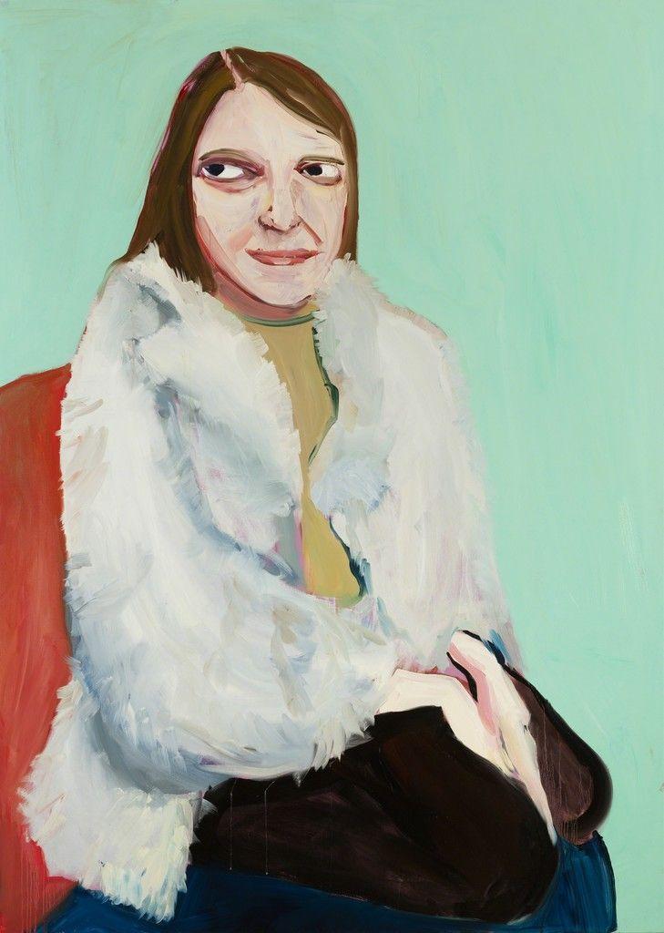 Chantal Joffe, 'Moll in a Fur Jacket', 2016