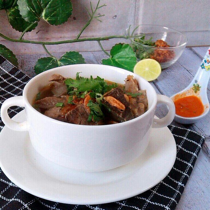 Sop saudara from makassar, indonesia