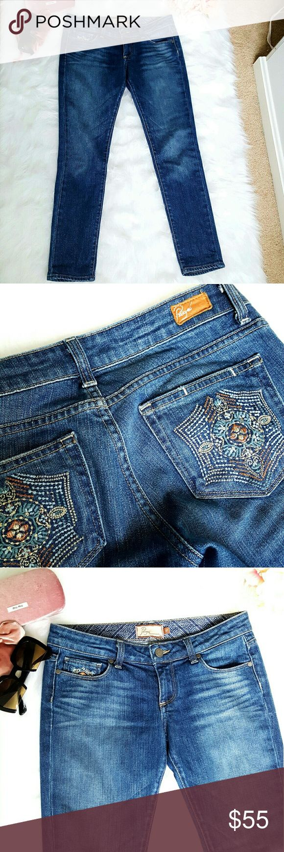Paige premium denim Beautiful  jean Paige Jeans Jeans Ankle & Cropped