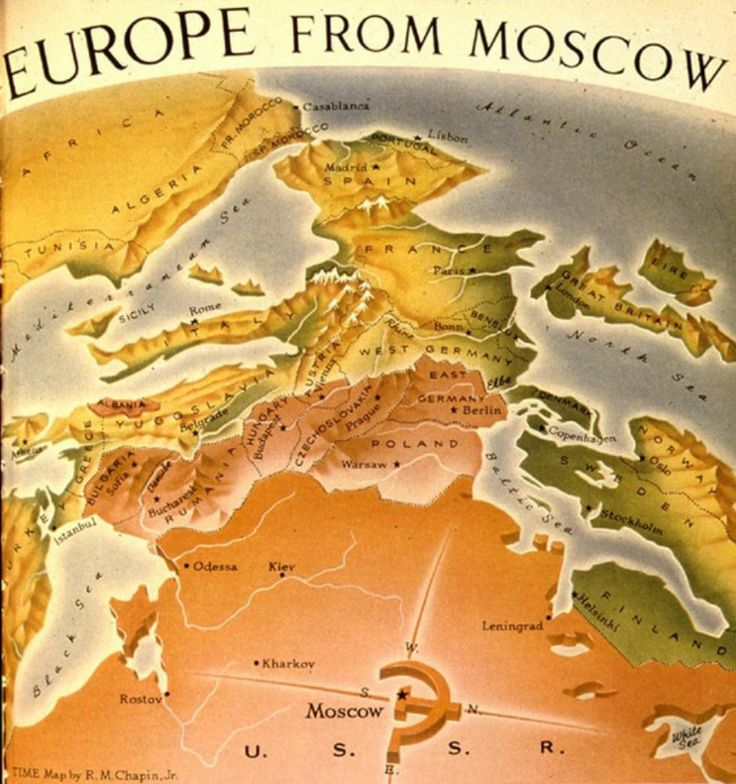 64 best gographie images on pinterest maps infographics and europe from moscow map sciox Gallery