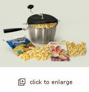 Sweet & Easy Snack Machine - a popper to make Kettle Corn in!