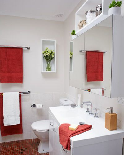 budget friendly bathroom renovation with a good clean and a few nifty storage solutions you can
