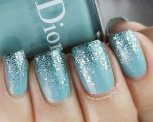 Possible party favor? Tiffany blue nail polish