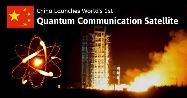 China has successfully launched the world's first quantum satellite dubbed as Quantum Experiments at Space Scaler (QUESS) satellite The QUESS satellite has been nicknamed as Micius after a 5th century BC Chinese philosopher. It will be located in sun-synchronous orbit at an altitude of 500 km and will circle the Earth once every 90 minutes. …#quantumcommunicatesatallite #quess #china