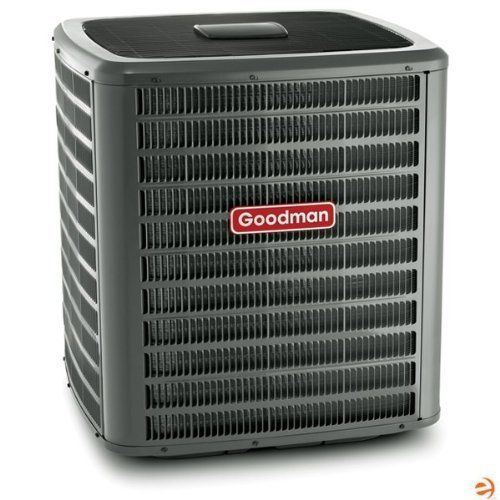 DSXC180481 2-Stage High Efficiency Condenser, Central Air Conditionin by Goodman. $2407.95. Goodman DSXC180481 2-Stage Condenser, Central Air Conditioning - 18 SEER, 4 Ton, 47,000 BTU Goodman has been manufacturing high quality heating and air conditioning equipment since 1982. Harold Goodman, the founder of Goodman heating and air conditioning, recognized an absence of high quality, low cost air conditioning equipment in the American market. After learning that another HVAC comp...