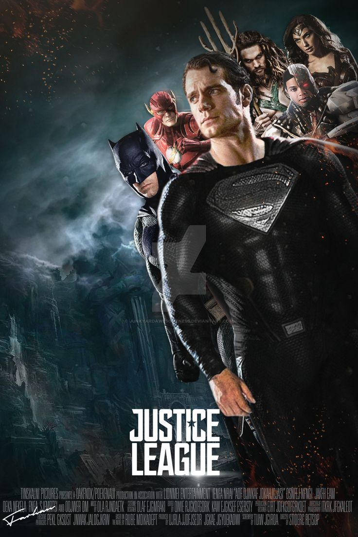 ... JunkyardAwesomeness Justice League 2017 Movie Poster HD by JunkyardAwesomeness