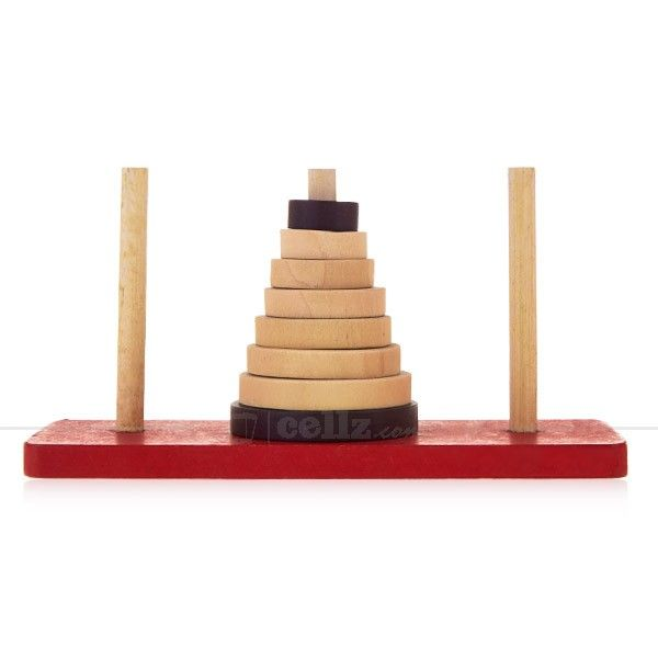 Tower of Hanoi the Wooden Puzzle Casual Children's Wooden Toys #tower #hanoi #wooden #puzzle #children #wooden #toys #cellz