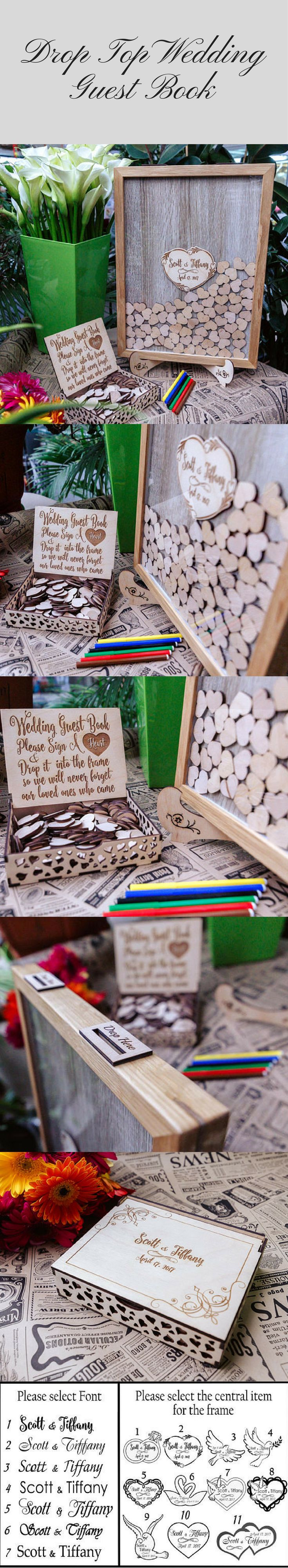A guest book made of oak-wood can become a stylish present and interior decoration. We use only top quality materials and pay attention to all the details. Using natural oak-wood, we strive to create a special present for your friends and family. #guestbook #wedding #woodguestbook #droptopguestbook #affiliate